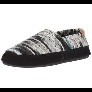 """ACORN WOMENS MOCS in """"Wooly Stripes"""""""